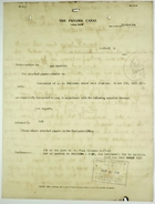 Correspondence and Other Documents re: Housing Assignments, Rent Collection, and Tenant Complaints, September 1915
