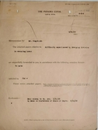 Cover Sheet for Memorandum to Mr. Clayton re: Difficulty Experienced by Dredging Division in Securing Labor, March 23, 1929