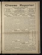 Cheese Reporter, Vol. 54, no. 48, Saturday, August 9, 1930