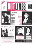OUTLINES THE VOICE OF THE GAY AND LESBIAN COMMUNITY VOL 9, No. 9, FEBRUARY 1996