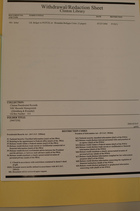 Clinton Library Withdrawal/Redaction Sheet from Clinton Presidential Records, NSC Records Management, ([Steinberg & Rwanda]), Box 212, Folder [9407230]