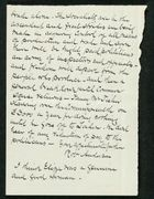 Letter from Robert Anderson to Edith Thompson [Partial, Undated]