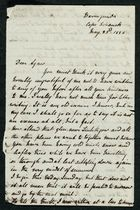 Letter from Edith Thompson to Agnes Howitt, May 23, 1886