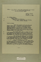 Letter from Francis C. Lindaman to William Moran, October 21, 1949