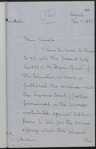 Translation of Memo from F. Angulo to W. J. Dickson re: Process Begun Against Captain Involved in Affray Between Colombian and British Subjects in Colombia, February 07, 1887