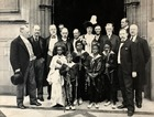 African Pygmies at House of Commons, London, 29th June 1905 (gelatin silver print)