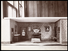 Model of the set of an unidentified play designed by Ernest Gros, 1899 (silver gelatin print)