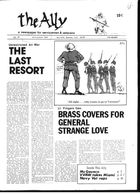 Ally: A Newspaper for Servicemen, The Ally, no. 41, July-August 1972