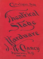 Catalogue of Theatrical Stage Hardware, no. 20