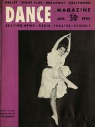 Dance Magazine, Vol. 19, no. 1, January, 1945