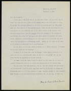 Letter from Elsie Clews Parsons to Dr. Benedict, November 6, 1936