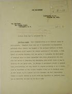 Excerpts of Letters from the War Department to the Governor, Panama Canal re: Tropical Labor, October, 1921