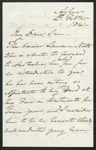 Letter from James Winter to Samuel Pratt Winter, February 4, 1861
