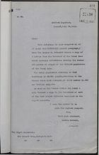 Copy of Letter from C. Mallet to Sir Edward Grey re: British Subjects in Canal Zone, July 24, 1912