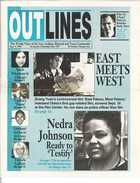 OUTLINES The Weekly Voice of the Gay, Lesbian, Bisexual and Trans Community Sept. 9, 1998 Serving the Community Since 1987
