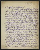 Letter from David Kaufmann to Markus Brann, May 13, 1892