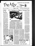 Ally: A Newspaper for Servicemen, Volume 1, Issue 6, The Ally, Vol. 1 no. 6, July 1968