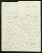 Letter Edith Thompson to My dear Phoebe, June 3, 1934