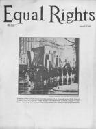 Equal Rights, Vol. 12, no. 51, January 30, 1926