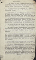 Minute Sheet Notes - Typed and Handwritten - 1947