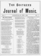 The Southern Journal of Music,  Vol. 1, no. 5, February 1, 1868