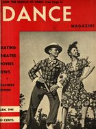 Dance Magazine, Vol. 18, no. 1, January, 1944