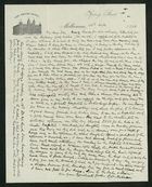 Letter from Robert Anderson to Edith Thompson, October 25, 1898