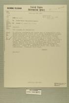 Telegram from Bennett in Tel Aviv to United States Information Agency, April 19, 1956