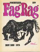 FOURTEEN Fag Rag NOV/DEC 1975