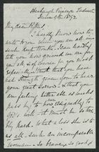 Letter from Agnes Cooke to Cecil Pybus Cooke, June 9, 1892