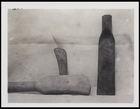 1 axe and 1 spadehead