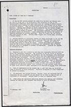 A. G. Munro, Emergency Unit, re: SITREP Iran, 1900Z, February 17, 1979