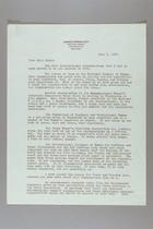 Letter from Carrie Chapman Catt to Katherine Blake, June 1, 1937
