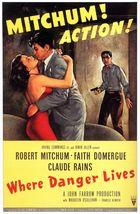 Where Danger Lives (1950): Shooting script