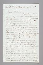 Letter from Sarah Pugh to Richard D. Webb, September 25, 1852