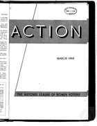 Action, vol. 2 no. 2, March 1946