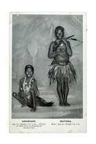 Amuriape and Matuka, London, c. 1905 (litho)