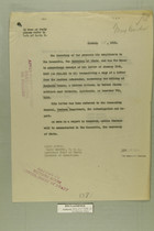 Memo Dated January 15, 1919 from Henry Jervey re: Killing of Benjami Crosco, a Mexican Citizen, by United States Soldiers Near Calexico, California on December 7, 1918