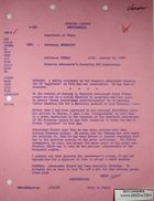 Airgram from Armin H. Meyer to Department of State re: Romanian Ambassador Pavel Silard on U.S. Aggression in Vietnam, January 11, 1968