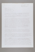 Letter from Jean Martensen to Mildred Persinger, January 26, 1977 and Previous Letter from Mildred Persinger to Jean Martensen, December 15, 1976
