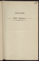 China 1900 Peace Proposals - Newspaper Clippings
