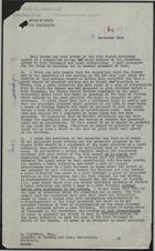Letter from Miss M. Z. Terry to K. Lightfoot re: Outline of Statutory Powers of Rent Tribunals and Local Authorities, September 3, 1959
