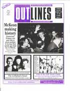 OUTLINES THE VOICE OF THE GAY AND LESBIAN COMMUNITY VOL 9, No. 11, APRIL 1996