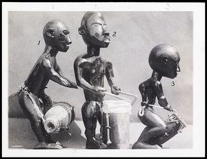 (1) Akomfo Apentima; (2) Faasafokoko; (3) Kete ntwamu, figure 197