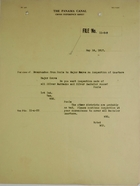Cross Reference Sheet for Case of Memorandum from Poole to Major Grove re: Inspection of Quarters, May 18, 1917