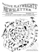 Native Playwrights' Newsletter, #11 Summer 1996
