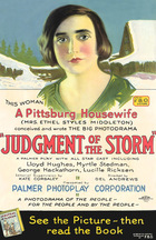 Judgment of the Storm (1924): Continuity script