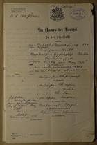 Im Namen des Königs, August 29, 1903