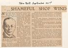 Shameful Shop Windows: A Roaring Trade in Garbage