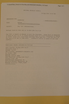 Memorandum from M. Brooke Darby re: Pkg 7327, September 22, 1994